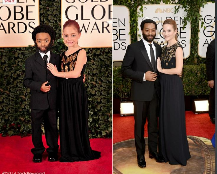 Mini re-creations #chiwetelejiofor