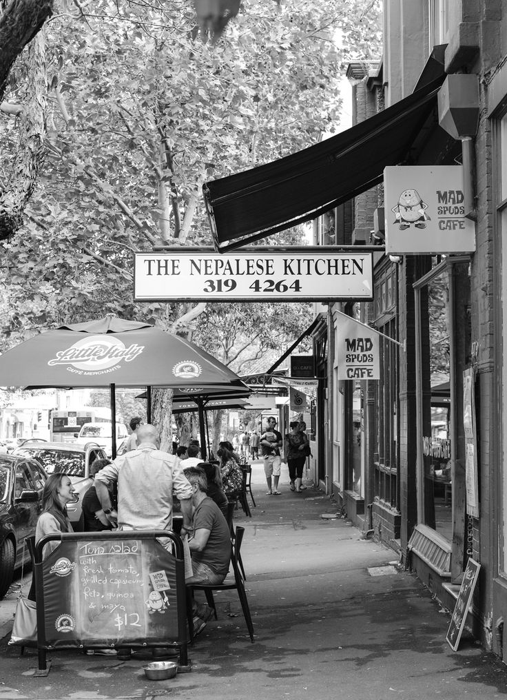 Street cafes in Surry Hills, Sydney Australia, by Jemma Watts Photography