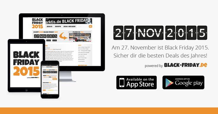Am 27. November ist Black Friday 2015. Jetzt Facebook-Fan werden oder den Black-Friday.de Newsletter abonnieren und keinen Deal verpassen!
