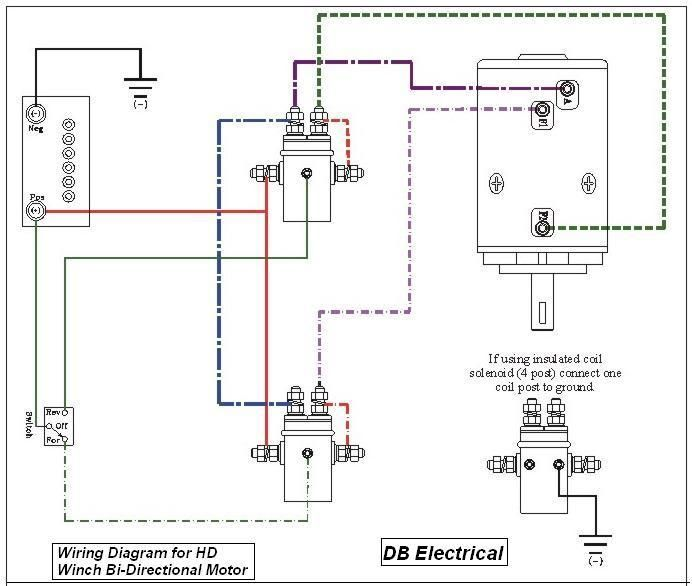 Dpst Solenoid For Winch Motor Wiring Diagram Pictures To