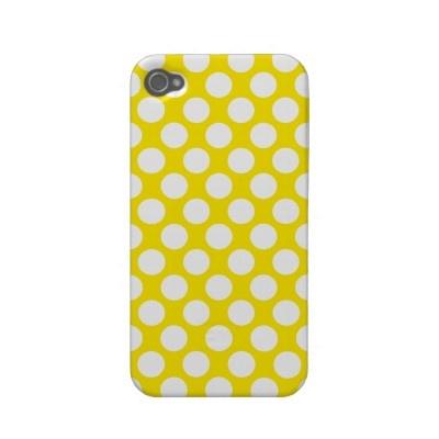 Teeny weenie yellow polka dot...: Sunshine Yellow, Iphone Cases, Polka Dots, Sweet, Black Withe Yellow, Mellow Yellow, Weenie Yellow, Color Pop, Yellow Phone