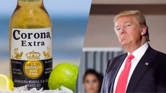 How Donald Trump's Policies Might Crash The Mexican Beer Industry