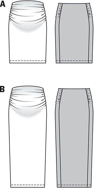Simplicity Creative Group - Burda Style Skirt