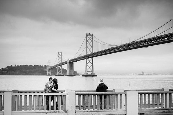 Engagement shooting in San Francisco - USA