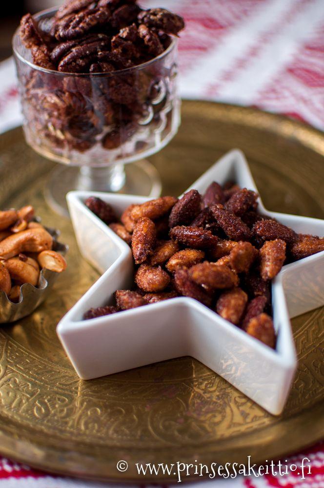 Prinsessakeittiö: Paahdetut mantelit ja pähkinät - 1. luukku