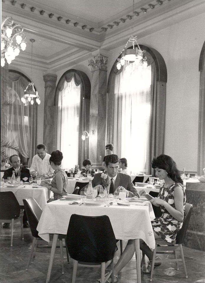 Keleti pályaudvar étterem, 1969.