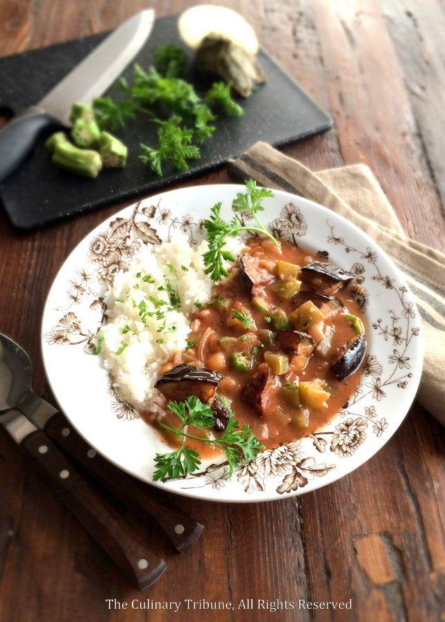 Eggplant Gumbo