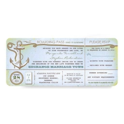 26 best Boarding Pass Invite Template images on Pinterest - boarding pass template
