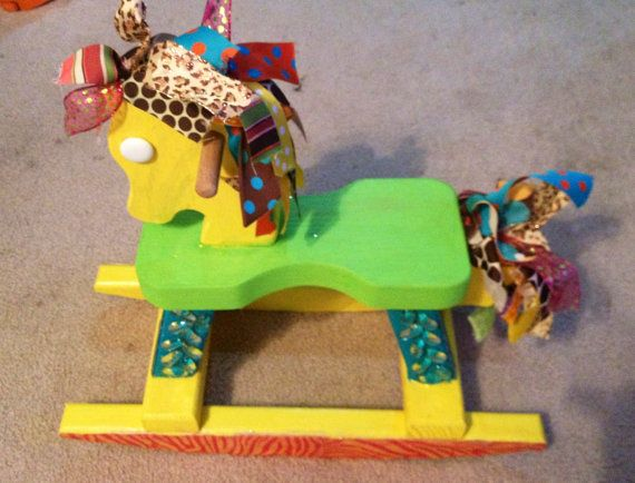 17 best images about painted rocking horse on pinterest