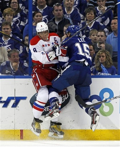 Alex Ovechkin on 4/2/12