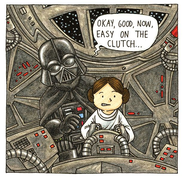 Vader's Little Princess, the sequel to Vader & Sons