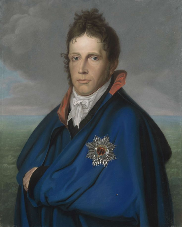Willem Frederik (1772-1843), erfprins van Oranje-Nassau. Later koning Willem I. Genaamd 'Het mantelportret', anoniem, 1805 - 1810