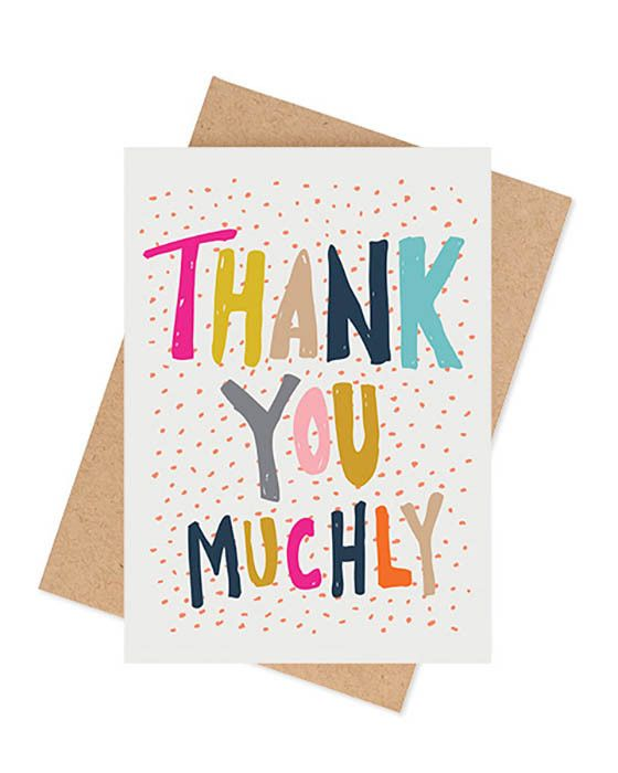Ma and Grandy - Thank You Muchly Card – Daisy Chain Store