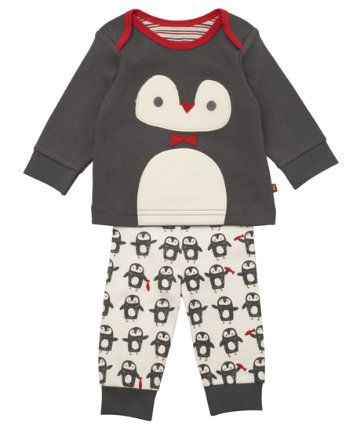 Mothercare Novelty Penguin Pyjamas