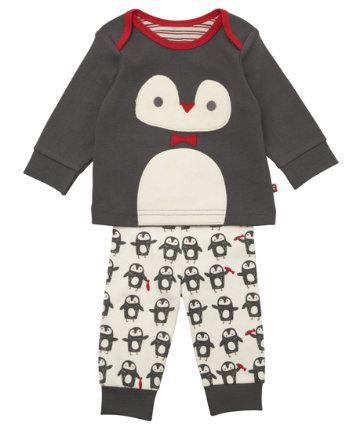 Mothercare Novelty Penguin Pyjamas