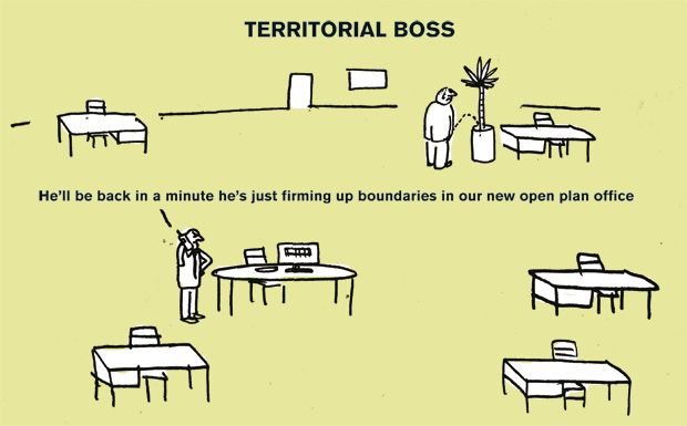 A guide to bad bosses, by cult illustrators Modern Toss################