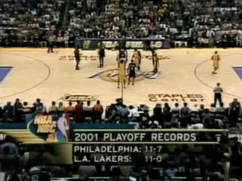 2001 NBA Finals: Sixers at Lakers, Gm 1 Part 1