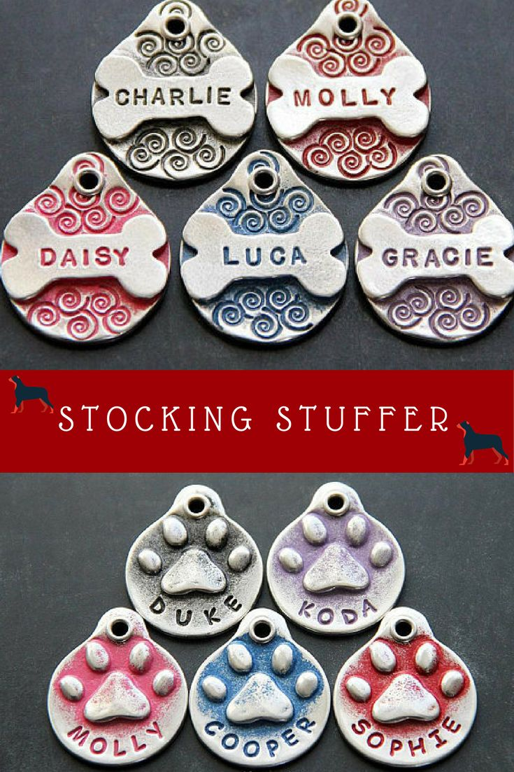 LuLu's getting one! Our furbabies get a Christmas gift too! Personalized Pet Tag Pet ID Tag Dog ID Tag Custom Pet Tag Dog Name Tag Bone Dog Tag for Dog #ad