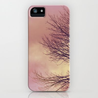 WARM TREES _ keep the warm from the colors of fall iPhone & iPod Case by Katherine Song  - $35.00
