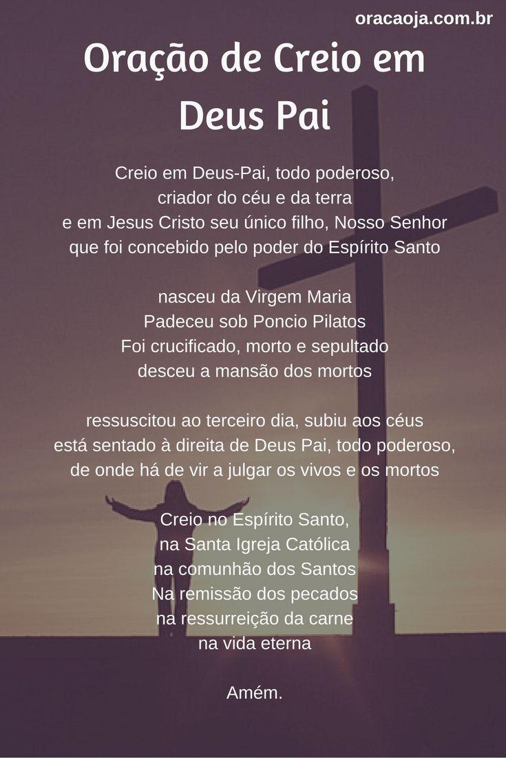 Excepcional 115 best Oração images on Pinterest | Prayers, Magick and Inspring  KV85