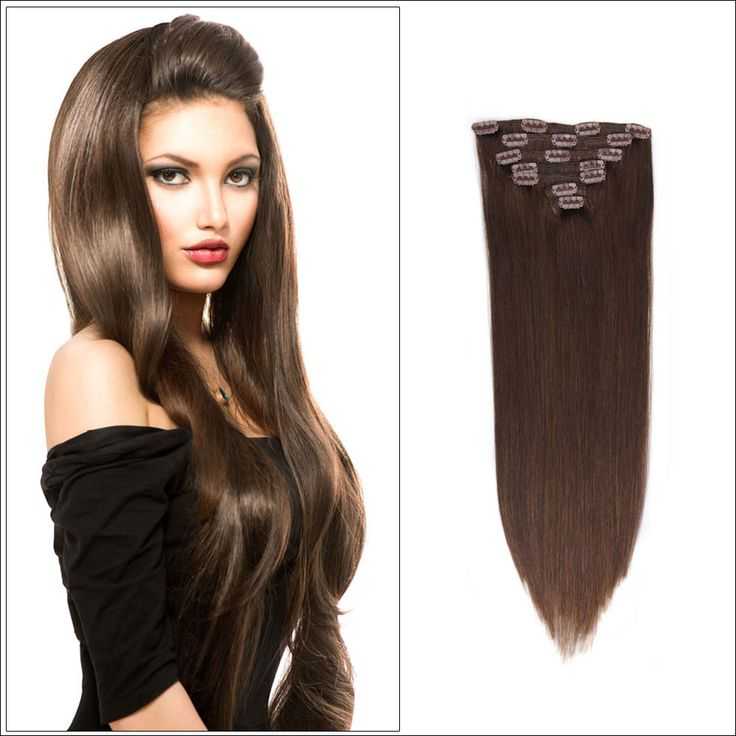 Best Clip InClip On Set Images On Pinterest Clip In Hair - Hair style change photo effect