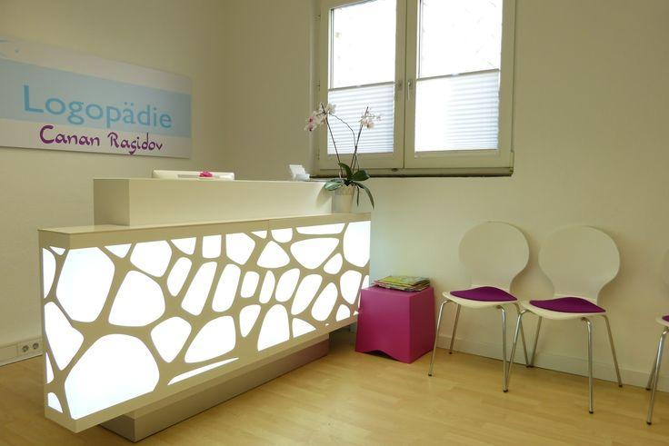 Organic # reception desk project by Bürosysteme Stock
