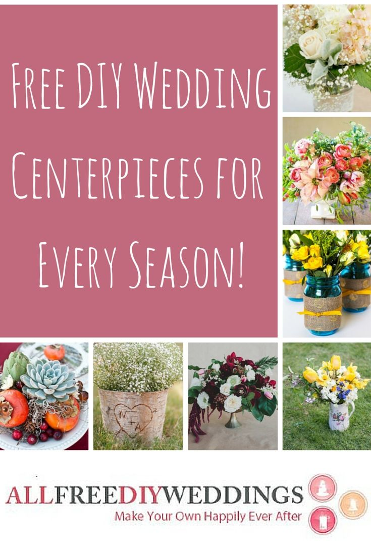 make your own wedding flower centerpieces%0A Free tutorial for DIY wedding centerpieces  http   ow ly K  JN
