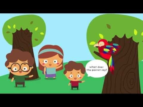 ▶ Who's in the Zoo? | Zoo Animals Songs for children - YouTube, Cute song asking for animal sounds at the zoo, sung to the tune of Skip to My Lou .Easy to memorise and maybe add your own verses.