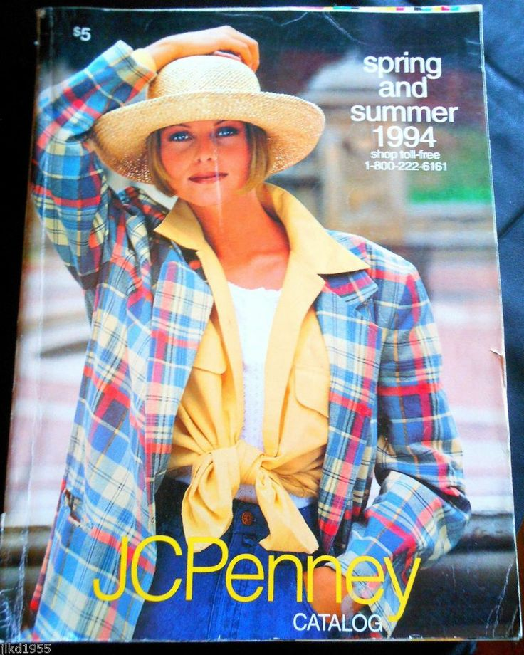 Penneys Dept Store: JCPenney Penneys Spring And Summer Catalog 1994