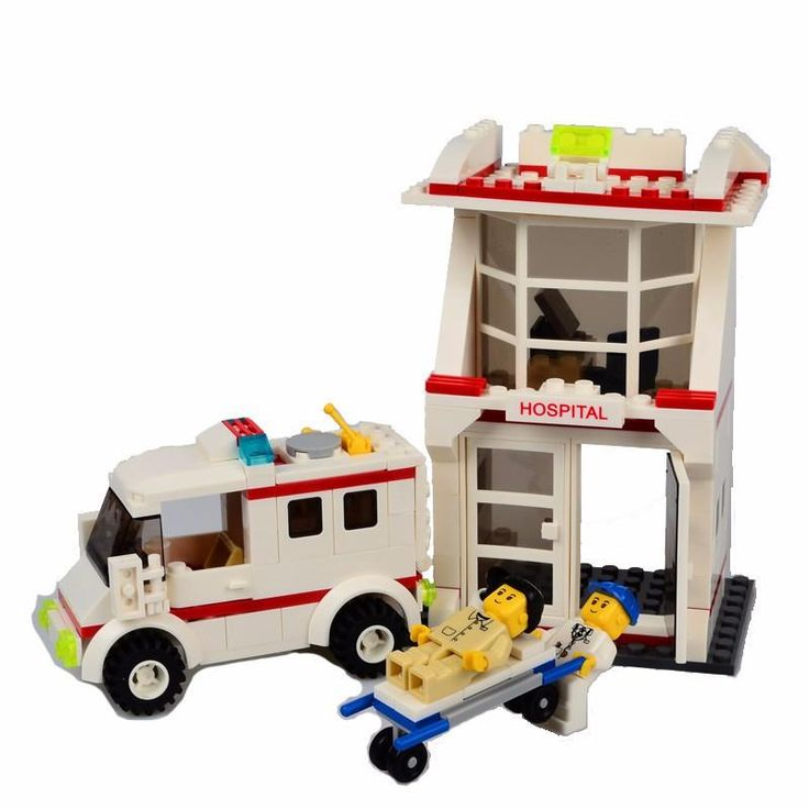 BOHS Building Blocks City Police Station Coastal Guard SWAT Truck Motorcycle / Learning & Education toys