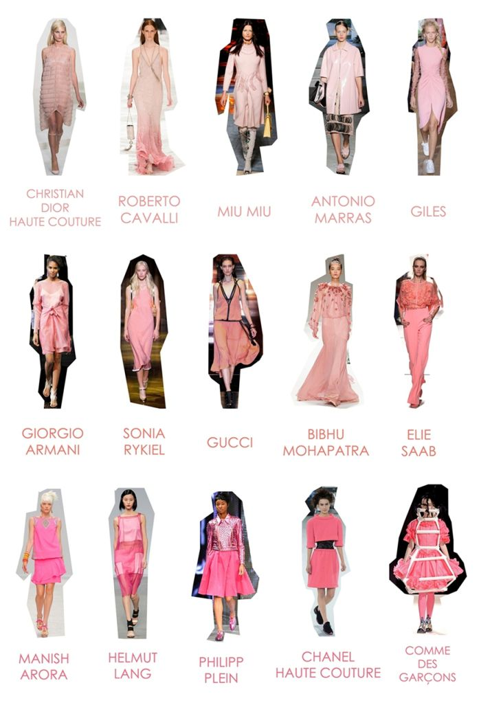 SS 14 Trends: Pink