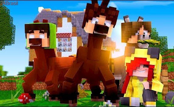 Minecraft: DISFARCE DE CAVALO - (Esconde-Esconde com Mobs)