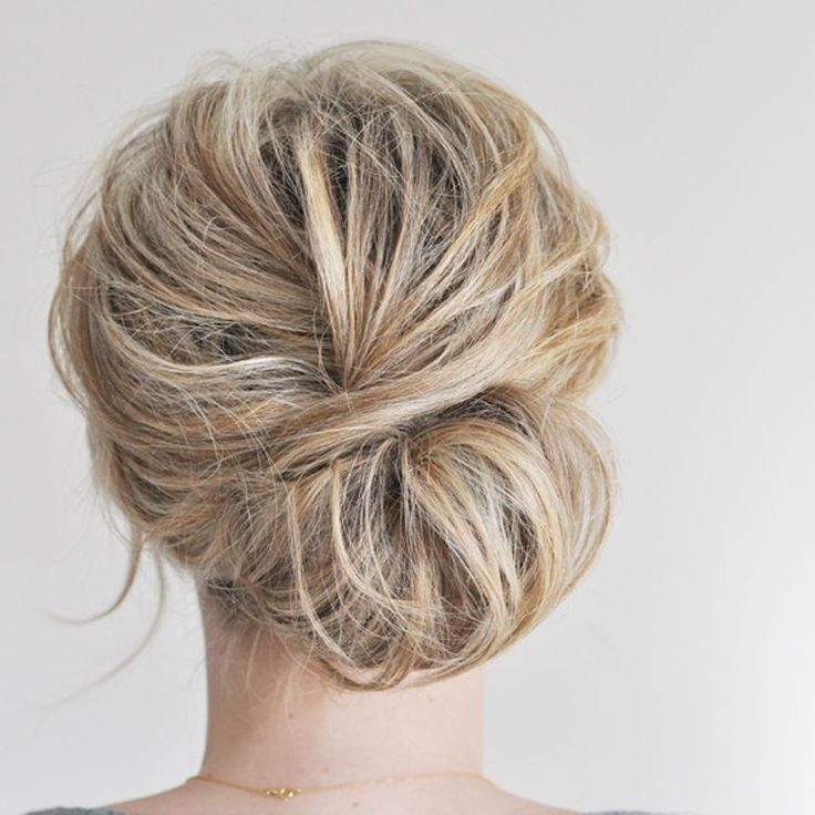 The low chignon
