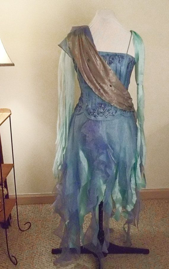 Water Sprite Water Fairy fantasy costume by Stitcheroo on Etsy