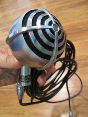 1940's microphone - can't use it...  but I want it.