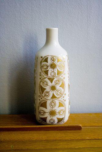 Vintage Porsgrund vase