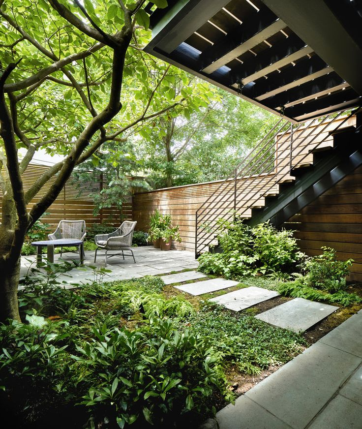 The 168 best Townhouse garden ideas images on Pinterest | Backyard ...