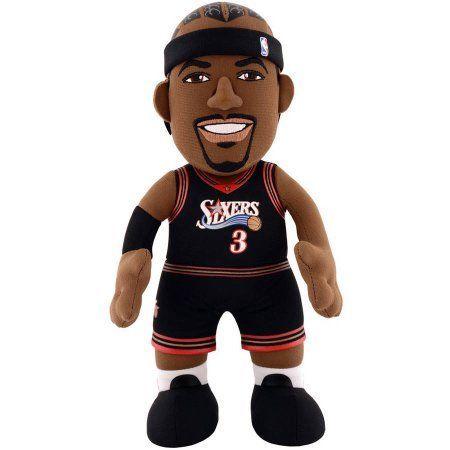 NBA Philadelphia 76ers Allen Iverson 10 inch Plush Figure, Multicolor
