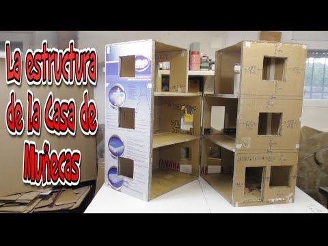 Manualidades, Diy, Mueble hecho con Cartón para el cuarto de Baño - YouTube
