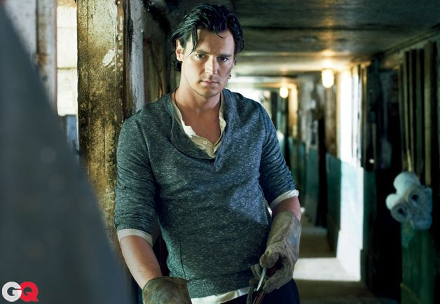 Benjamin Walker...maybe the first time I've thought of Honest Abe as sexy...MAYBE!