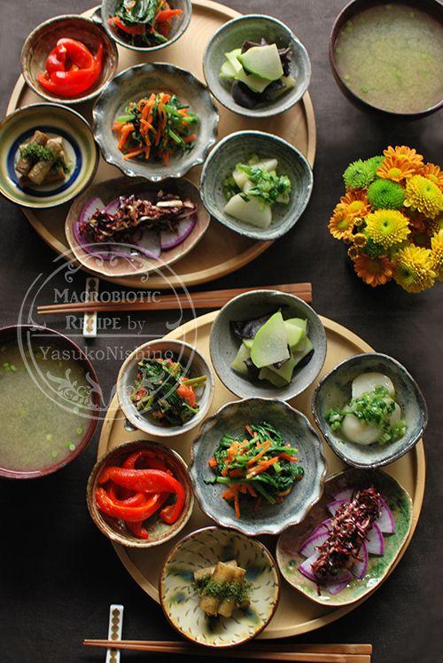 秋深し小鉢料理を楽しむ。日常を大切に。 の画像|西野椰季子のマクロビオティックレシピ