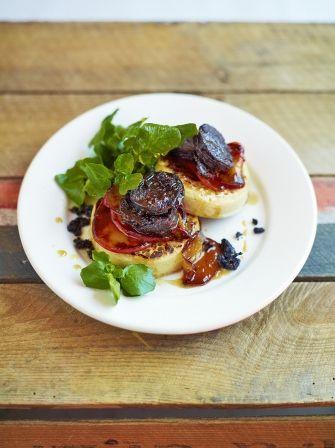 Black Pudding Crumpets   Pork Recipes   Jamie Oliver