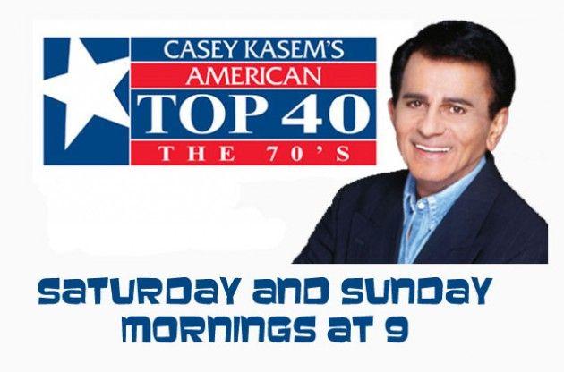 casey kasem's top 40