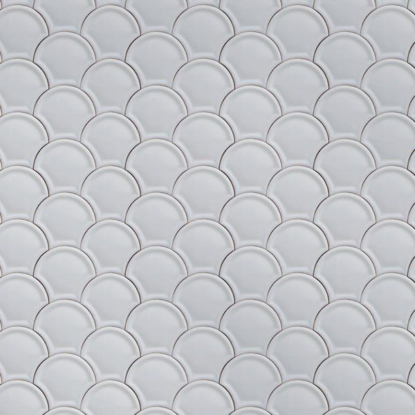 Spring Trend: Fish Scales: Scales wallpaper from the Tile collection