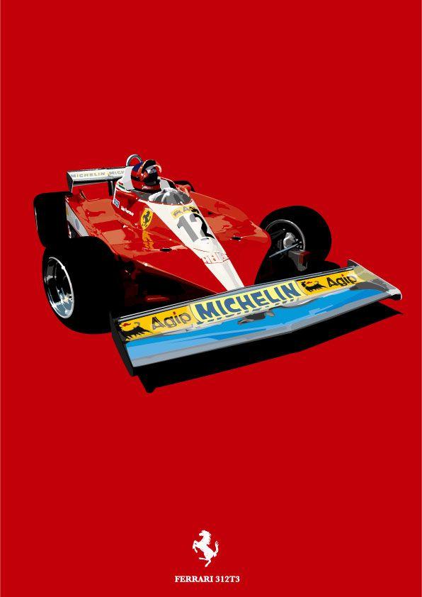 FERRARI 312T3-1978/GILLES VILLENEUVE : PURA VIDA