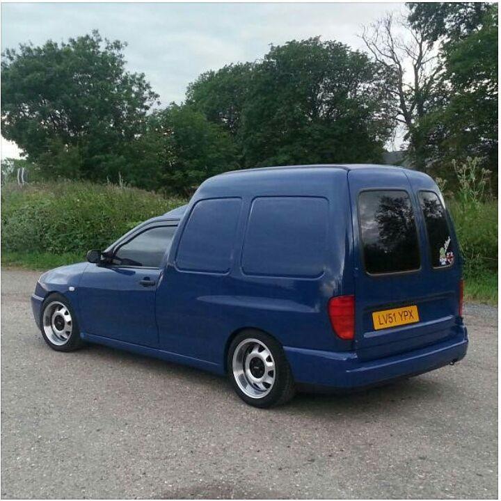 "170 Likes, 3 Comments - MODIFIED VANS (@modifiedvans) on Instagram: ""@astondobson 's Caddy Looks Brilliant #ModifiedVans #VolksWagen #VW #VeeDub #VDUB #Caddy #MK2Caddy…"""