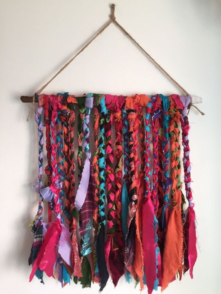 Driftwood Chic Boho Wall Hanging Multicoloured in Home, Furniture & DIY, Home Decor, Wall Hangings | eBay!