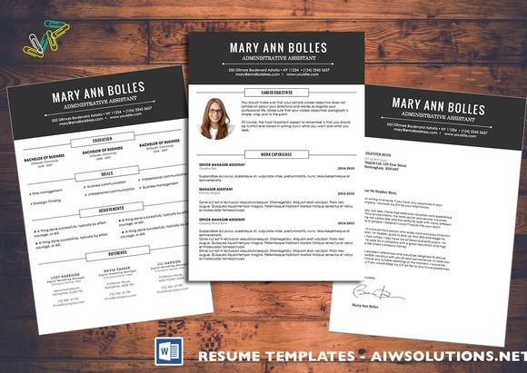 Resume,cv Template-id02 @creativework247