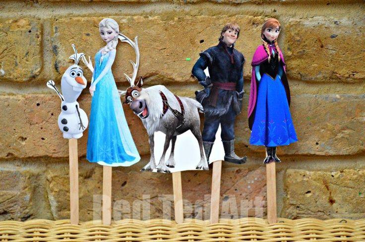 Disney's Frozen Craft - Puppets