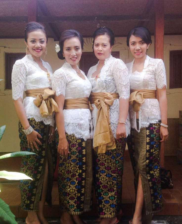 Balinese Women in Kebaya
